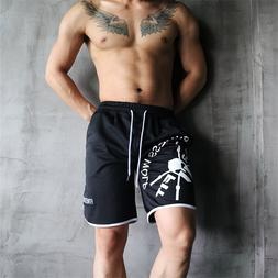 2019 Casual Summer Men's Shorts Gym Sport Running Male Fitne