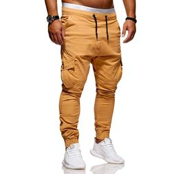 2019 new summer men's slacks sport <font><b>pants</b></font>
