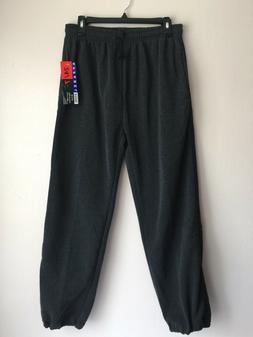 24/7 Apparel Mens Sweatpants Size M Gray Jogger Running Trai