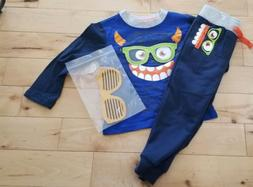 3 Pc 3D Jogger Set-monster Size 2T Boys new with tags
