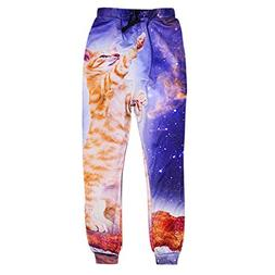 ADREAMONE Unisex 3D Printed Graphic Jogger Pants Trousers Ca