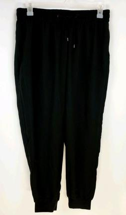 Lane Bryant 6TH & LN Women's 14 Black Dressy Jogger Pant Tub