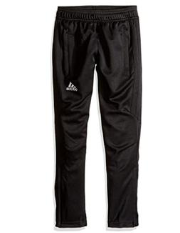 adidas Men's Soccer Tiro 17 Pants, Medium, Black/White