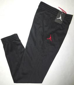 NIKE AIR JORDAN Big Boys JUMPMAN Jogger Sweat Pants BLACK Re