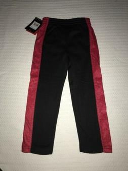 NIKE AIR JORDAN Boys JUMPMAN Jogger Sweat Pants BLACK Red Yo