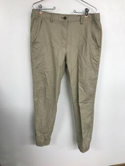 Amazon Essentials Mens Chino Joggers Medium Khaki