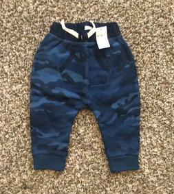 baby blue camo joggers sweatpants size 6