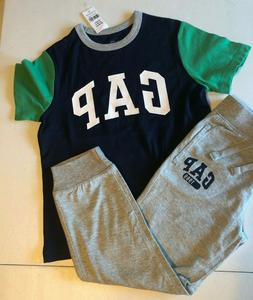 Baby Gap Boy's 5T Outfit Logo T-Shirt Lightweight Sweat/jogg