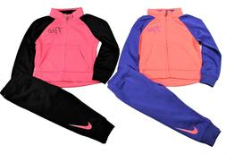 Nike Baby Girl 2 Piece Jogger Set Tracksuit Pink/Blue/Black