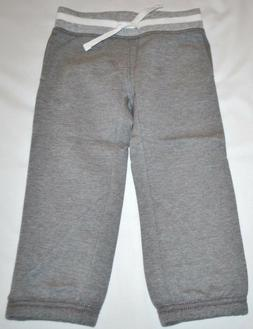 Crazy 8 Basic Gray Joggers Sweatpants Athletic Pants 2T Todd