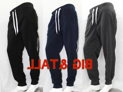 BIG AND TALL MEN SOUTHPOLE ACTIVE FLEECE JOGGER PANTS 4 COLO