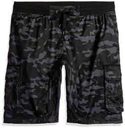 Southpole Big and Tall Men's Jogger Shorts with Cargo Pocket