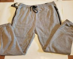 SOUTHPOLE BIG & TALL MENS JOGGERS PLUS SIZE 4X WITH ZIPPER P