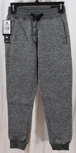 Southpole Big' Boys' Jogger Fleece Pants Marled Grey Size Sm