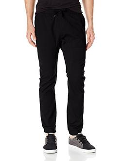 Southpole Men's Big and Tall Basic Stretch Twill Jogger Pant