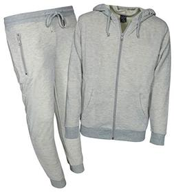 Galaxy by Harvic Boys 2-Piece Active French Terry Hoodie Jog