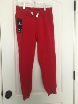 SOUTHPOLE Boys Athletic Jogger Sweat Pants Sz M 10-12 Red