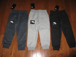 NIKE BOYS  ATHLETIC JOGGERS WITH NIKE & SWOOSH SIZE 2T/3T/4T