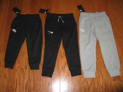 NIKE BOYS  ATHLETIC JOGGERS WITH SWOOSH SIZE 2T/3T/4T/6/7 NW