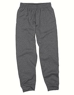 Hanes Boys' FreshIQ Fleece Jogger Pants Oxford Gray XS Free
