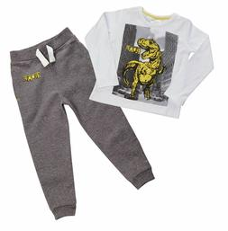 Boys Infant Kids Novelty Dinosaur Outfit Clothes T-Shirt Swe