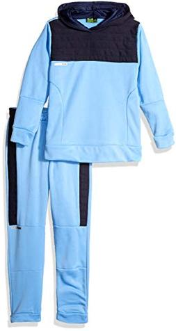 RBX Boys' Little Pullover Fleece Hoodie and Jogger Set, Univ