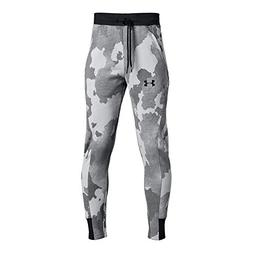 Under Armour Boys Rival Printed Jogger, Steel /Black, Youth