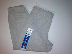 Hanes Boys Joggers Sweatpants Deep Pockets Gray Waist 22-26'
