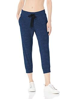 Amazon Essentials Women's Brushed Tech Stretch Crop Jogger P