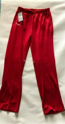 cali womens red workout training jogger warm