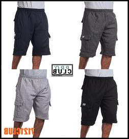 Pro Club Cargo Shorts Men's Heavyweight Fleece Joggers Sweat