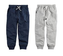 Carters Toddler Boys 2 Pack French Terry Active Jogger Pants