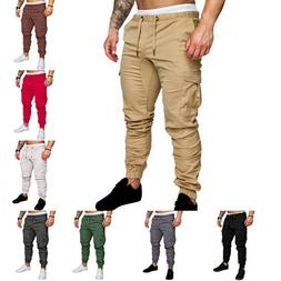 Casual Joggers Pants Solid <font><b>Color</b></font> <font><
