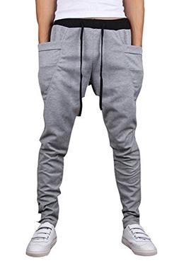 Mooncolour Mens New Arrival Casual Jogging Harem Pants, Ligh