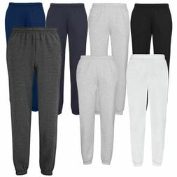 Fruit of the Loom Mens Classic Elasticated Cuff Jog Pants Ca