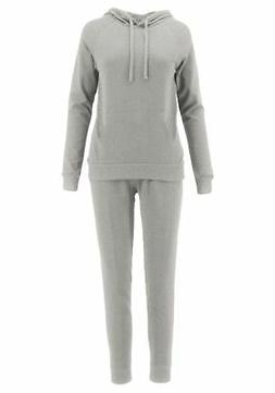 ClothingAve. Womens French Terry Hoodie and Jogger Pants Swe