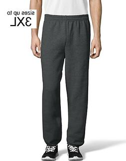 Hanes ComfortBlend EcoSmart Men's Sweatpants Charcoal Heathe