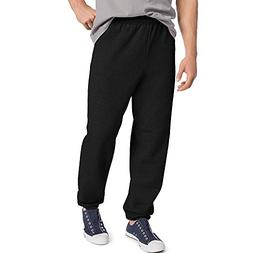 Hanes ComfortBlend Fleece Pant p650, Black, Large