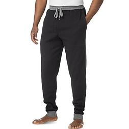 Hanes Men's ComfortSoft Thermal Waffle Knit Jogger Pants