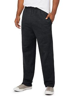Hanes ComfortSoft3; EcoSmart Men's Fleece Sweatpants Black S