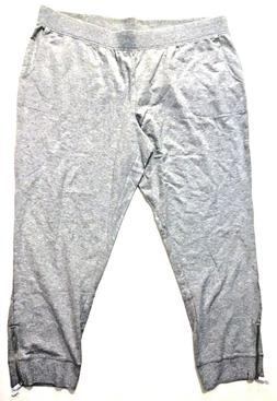 Denim & Co. Active Petite Jogger Pants with Zipper Detail, G