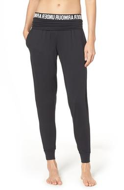 Women's Under Armour Downtown Jogger 2.0, Size Medium - Blac