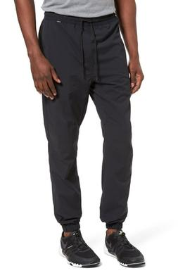Men's Hurley Dri-Fit Jogger Pants, Size Large - Black