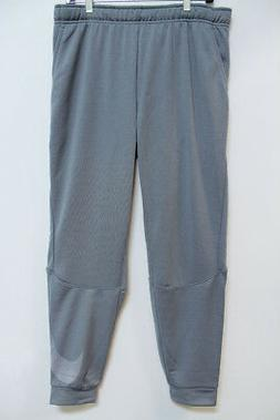 NIKE DRY DRI-FIT TRAINING PANTS COOL GRAY/SILVER JOGGERS SWE