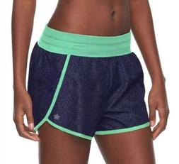 Tek Gear DryTek Running Shorts Blue Mesh Liner Womens Plus S