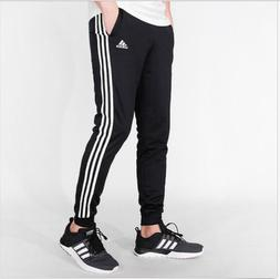 ADIDAS ESSENTIAL 3 STRIPE TRICOT JOGGER PANTS - Men's XL  NW