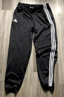 ADIDAS ESSENTIALS CUFFED TRACK PANTS MODERN SLIM-FIT BLACK/W
