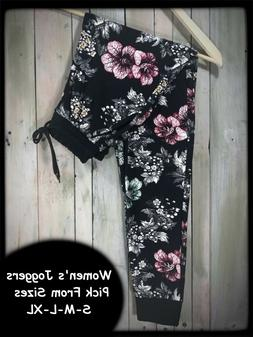 Evening Bloom Amazing Buttery Soft Joggers Pick Your Size S-