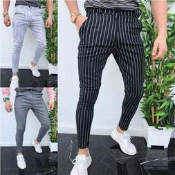 Fashion Mens Pants Jogger Pencil Slim Fit Skinny Hombre Pant