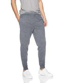 Amazon Essentials Men's Fleece Jogger Pant, Light Gray Heath